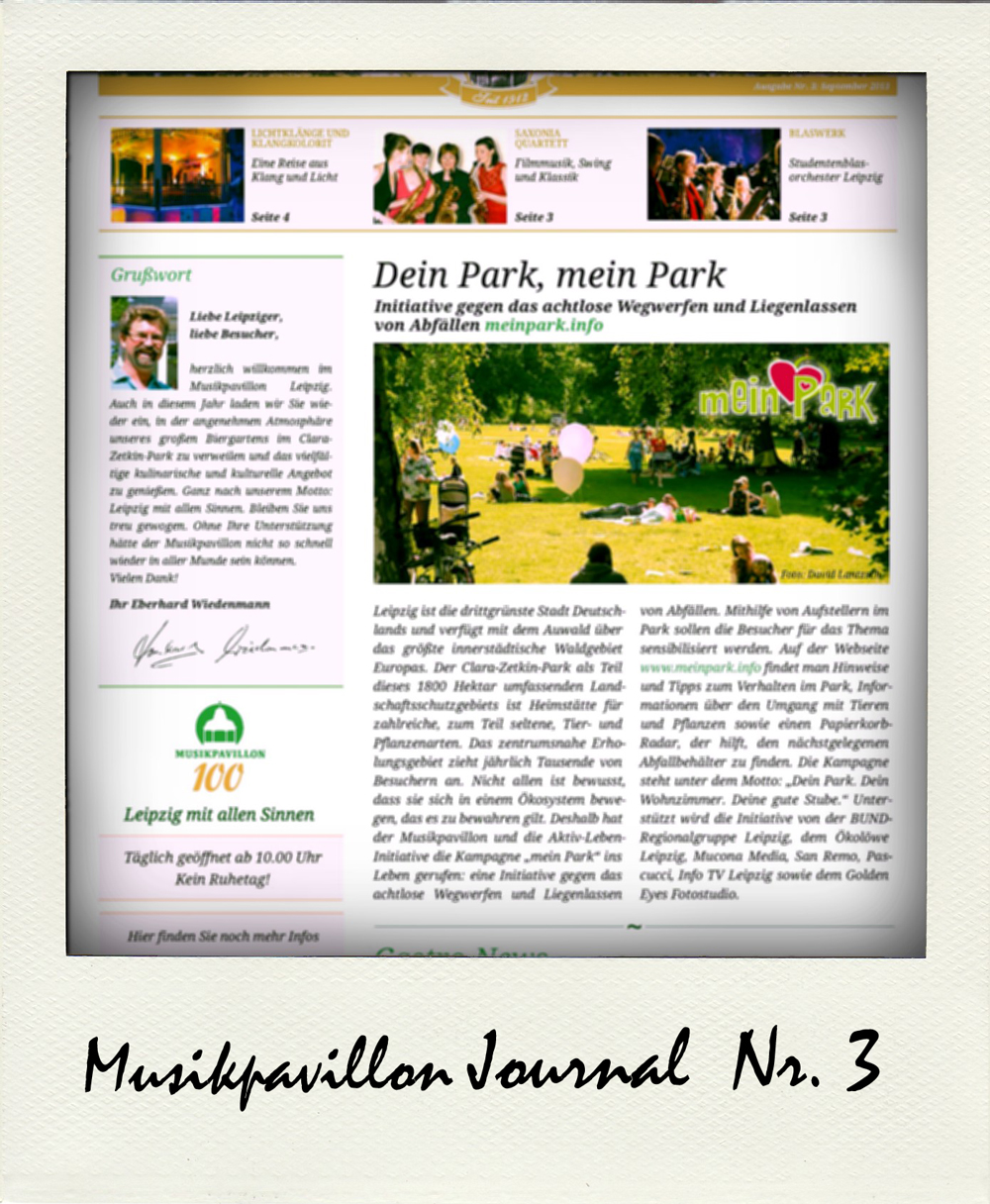 Musikpavillon Journal Ausgabe 3