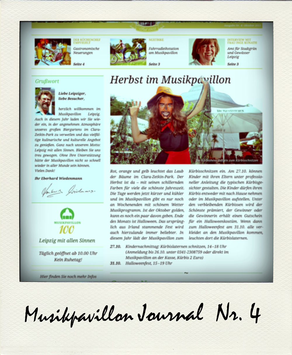 Musikpavillon Journal Ausgabe 4