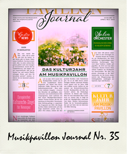 Musikpavillon Journal Ausgabe 35